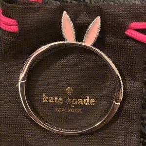 Kate spade magic rabbit ear bangle